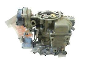 Jeep 84-86 CJ7 NOS Crown Holley Remanufactured Reman Carburetor Carb FREE SHIP!