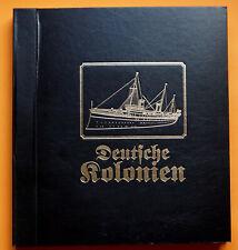 großformatiges Falzlosalbum Deutsche Kolonien