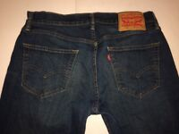 Levi Men's 559 Jeans Denim Straight Fit 31 x 30
