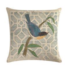 Sofa Pillowcase Flower Bird Bedside Decorative Super Soft Comfortable Butterfly