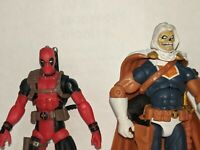 Marvel Universe Greatest Battles Deadpool and Taskmaster lot  3 3/4 inch  X-Men