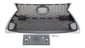 Front Grille for Lexus GS350 GS300 GS400h 200t F GS 16-19 Sedan with Sensor Hole