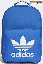 ZAINO ADIDAS ORIGINALS TREFOIL BACKPACK - BK6722 col. azzurro/bianco