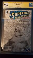 Superman Unchained # 6 Sketch Variant Jim Lee Alex Sinclair and Scott Williams