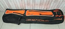 Mercian BKB Stick Kit Bag Black Orange Stick and Kit Hockey Bag