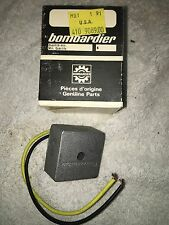 Ski-Doo Elan- Voltage Regulator 410-9089 Rotax 250 Moto Ski Bombardier-New