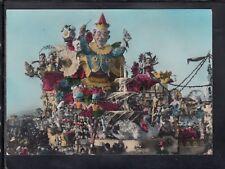 Cartolina Carnevale di Viareggio Corso Mascherato Carnevale in Fiore IB484