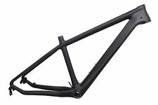 "Light T800 Carbon Fiber 26er Bike Frame 17"" MTB Frame BB92 for 31.6mm Seat Post"