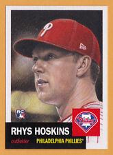 Rhys Hoskins Philadelphia Phillies Rookie 2018 Topps 1953 Living Set 4 RC