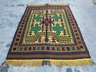 191x141 cm Afghan Kilim Rug Best Trible Kilim Or cicim wool oriental kilim