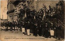 CPA Inauguration du Monument aux Morts de St-Maurice-sous-les-Cotes (255056)
