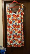 Plus Size Derek Heart Floral Dress Cold Shoulder Size 3X
