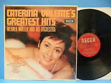 Caterina Valente Greatest Hits 1965 VG++ Mono UK Import Record Decca LK 4737