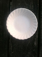 Regency Swirl Suffolk by Johnson Bros.  1 Sauce Dish   White Patt. 1G2