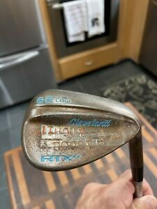 Cleveland RTX-4 Tour Natural Rust 62° Wedge 6° Bounce C Taper 120 Shaft
