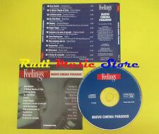 CD NUOVO CINEMA PARADISO FEELINGS compilation PROMO 2002 TIROMANCINO ENO (C7*)