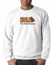 Gildan Crewneck Sweatshirt Chocolate The Other Food Group Funny