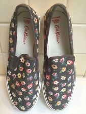 CATH KIDSTON SLIP ON FLORAL PUMPS / TRAINERS. SIZE UK 8  EUR 41. NEW.