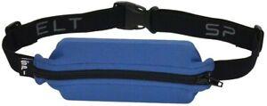 SPIBelt - Adult Case SPIbelt running belt for Cell Phones - Black/Steel Blue