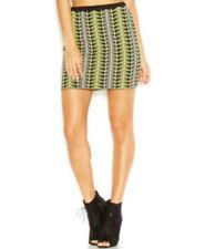 RACHEL ROY fitted tribal skirt, Black/Grey/Yellow, Med-NWOT
