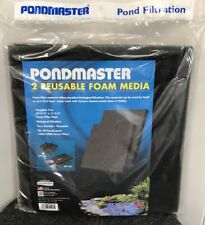 "Foam Media Filter Pad Pondmaster 1000 2000 Danner Pond 11-3/4"" 2 in Pack E04"