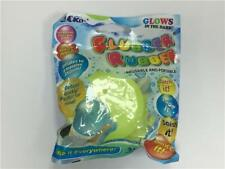 Pockos Flubber Rubber Glow in the Dark Balloon Ball (Assorted Colours)