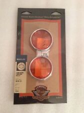 *69063-03A Wide Band Bullet Amber Turn Signal Lenses BX1-.5fc