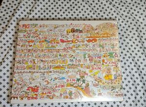A Pig Is A Pig Jigsaw Puzzle Vintage 1980 By Sue Sturgill New Over 550 Pieces