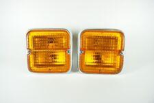 DAIHATSU TAFT F20 F50 F60 FRONT TURN SIGNAL BLIZZARD LAMP LENS LIGHT PAIR