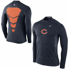 NIKE CHICAGO BEARS PROCOMBAT HYPERWARM SHIELD FITTED SHIRT 608061-459 MENS SMALL