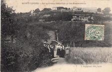 MONT-CINDRE le nouveau grapillon et les restaurants éd augagneur timbrée 1907