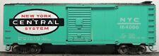 Vintage Crown New York Central Green 40' Box Car Rtr Mw Kd's Car # 164000