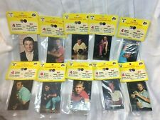 Pro Bowlers Assoc. action Photos & Mini lessons.  set of 10. 40 cards. NEW!