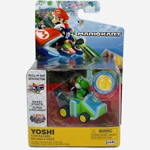 Mario Kart Coin Racers World of Nintendo YOSHI 7 STUNT COIN NEW SEALED