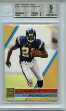 """2001 Topps Reserve #104 Ladainian Tomlinson """"rookie"""" card /999 - BGS 9"""