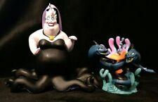 Disney the Little Mermaid 30th Anniversary Christmas Ornament set Ursula Eels
