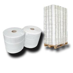 Palette Jumbo Toilettenpapier 2 lagig ca 60% Weiße ca.28cm Ø x 360m