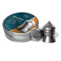 H&N Silver Pointed Airgun Pellets .177 cal.