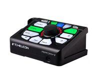 TC-Helicon Perform-V Vocal Multi-FX Processor w/ Harmony Reverb EQ Gain Pedal