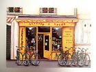 Carte Postale Illustrateur Fernando da Cunha - Gepetto et Vélos