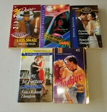 Lot Of 5 Pre-Owned Silhouette and Harlequin Romance Novels