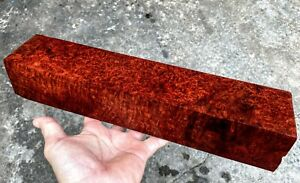 VERY DRIED!! Amboyna Burl ,Exotic Wood, Lumber, TURNING BLANK #1650