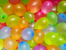 100 Globos de Agua Aire Látex Pequeño mezcla de Globo balones Fiesta compre 2 lleve 1 Gratis