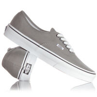 VANS AUTHENTIC PEWTER (GREY)/BLACK CANVAS  NEW IN BOX SIZE 4 TO 12