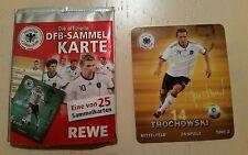 Rewe Sammelkarte Nr. 14 Piotr Trochowski (DFB Sammelbild Fußball WM 2010)