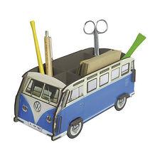 Werkhaus Design + Produktion Stiftebox VW Bus T1 Samba blau 22 x 11 cm, h 10 cm