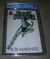 Black Panther 1 (2009) Djurdjevic VARIANT  CGC 9.4  NEW STYLE CASE