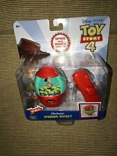 New ThinkWay Disney Toy Story 4 Electronic Music Light Spinning Woody Rocket