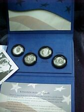 2014  50TH ANNIVERSARY KENNEDY HALF DOLLAR SILVER 4 COIN SET
