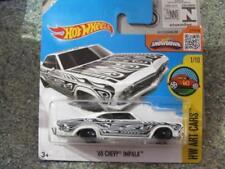 Voitures, camions et fourgons miniatures blancs pour Chevrolet 1:64